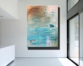 Large Contemporary Original Modern Abstract Wall Decor Painting by Libby Fine Art