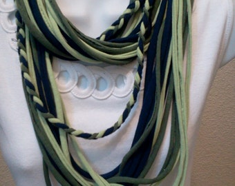 Recycled T Shirt Necklace
