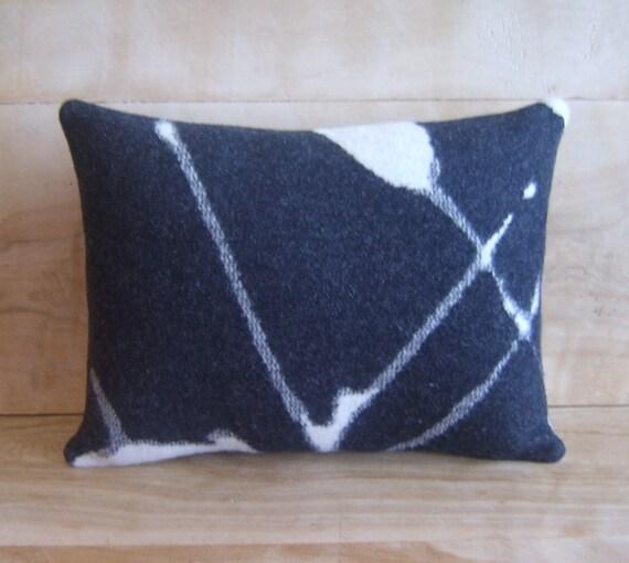 Wool Throw Pillow, 11x14