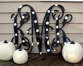 Extra Large Wooden Monogram-Monogram your Room