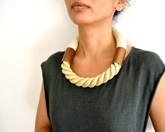 rope necklace ( h e r a )