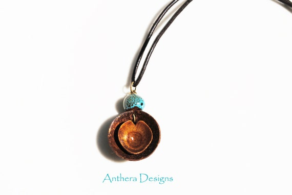 Unique Necklace for Men / Women - Acorn - Natural Jewelry - Valentines
