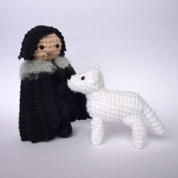 Reserved for Lisa: Jon Snow and Ghost