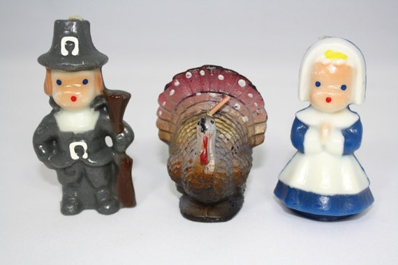 vintage thanksgiving candles eBay