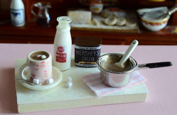 RESERVED-Miniature Hot Chocolate Set
