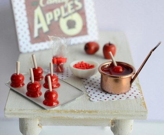 Miniature Candy Apple Set