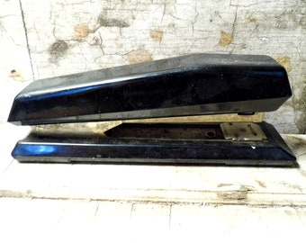 Vintage Office Supplies, Swiedish Stapler, Works, Art Deco, Industrial, Retro Mad Men, Stationery