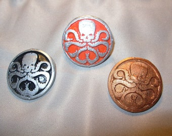 Hail Hydra, Insignia Pin Resin