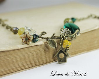 Christmas Gift- Woodland bird bracelet - Christmas Friendship Bracelet- Coupon code gift