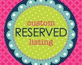 Reserved for Raeleen 2 custom made cuff bracelets