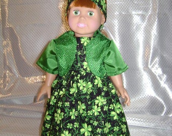Patricia)Designer  St Pats party dress