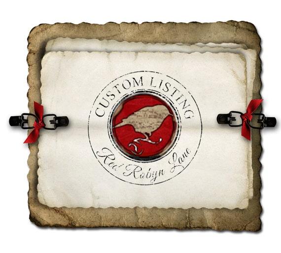Custom Order for Gretchen - Moss Monogram 20/24/20 set