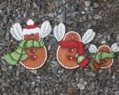 Gingerbread Fairies Ornaments