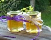 Elegant Honey Wedding Favors 2oz Jars Tennessee Wildflower Wedding Rehearsal Dinner Favors Reception Favors 48