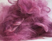 Suri Alpaca Fiber - Dyed & Picked        2 oz