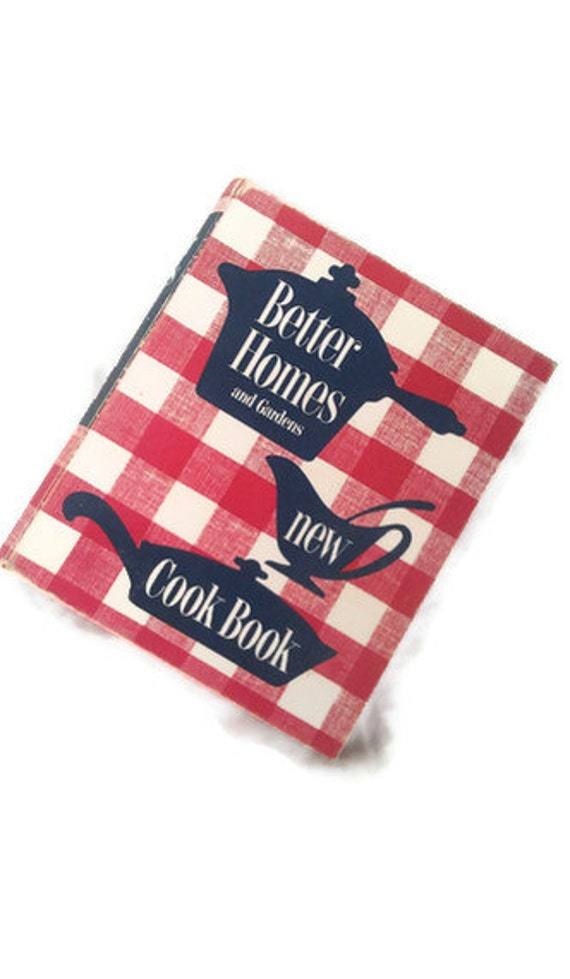 Vintage Cookbook First Edition Better Homes and Gardens 1953