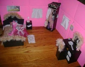 Monster High Doll Bedroom Play-set