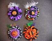 SALE - Halloween Yo Yo Hair Clip - Choose ONE
