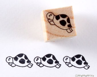 cute turtle Rubber Stamp