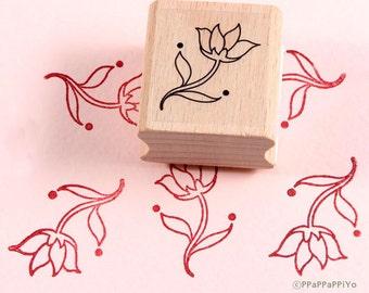 50% OFF SALE Flower pattern Rubber Stamp FP07