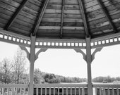 Gazebo Effect, Black and White Photo Art Collection