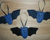 Felt Bat Ornaments