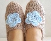 Slippers Socks Crochet Slipers Women's Socks Foot Wear Handmade Socks Winter Gifts For Her Gifts