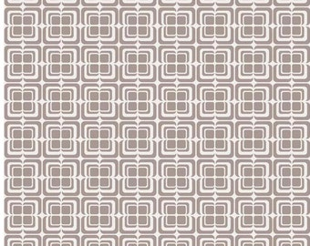 "Deco Gray by ""Ashbury Heights""  Riley Blake Designs Fat Quarter Cut, Gray Fabric"