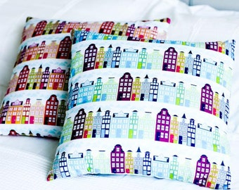 Town House Pillow Cover