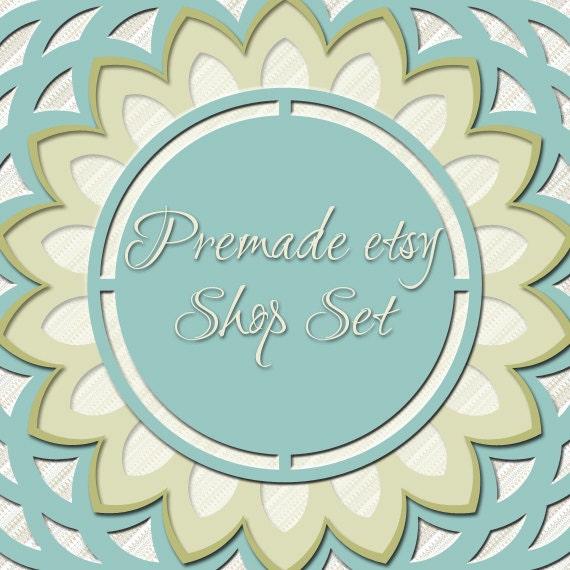 Premade Etsy Shop Image Set - Design 43