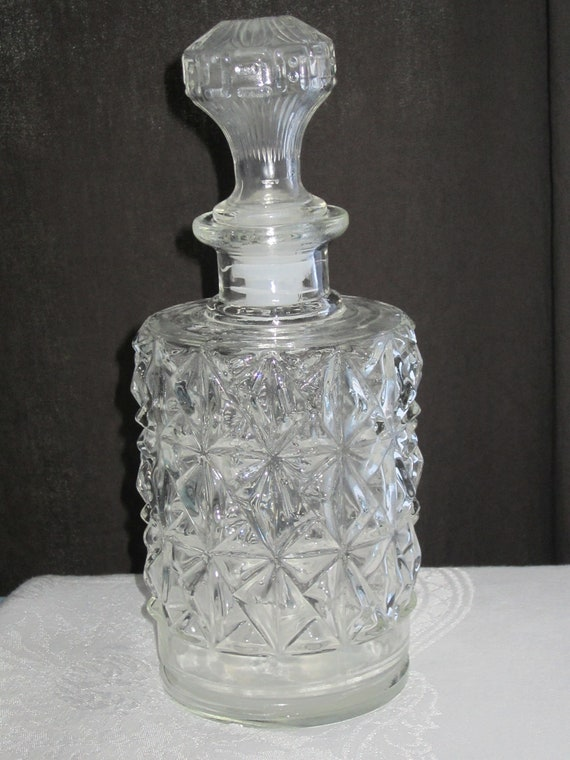 Crystal Clear Glass Decanter