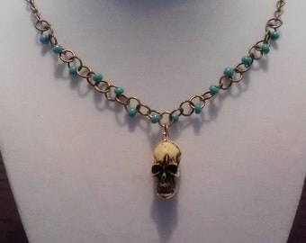 Day Of The Dead. Necklace
