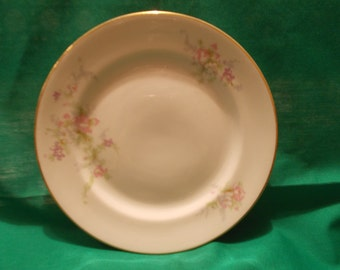 """Four (4), 6 1/2"""" Bread & Butter Plates, from McNicol China, in a Unknown Pattern."""