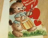 Vintage Valentine Card - 1951