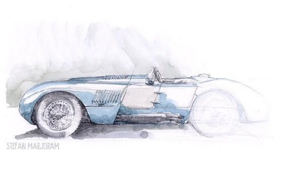 C Type Jaguar Print