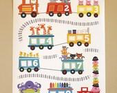 Choo Choo Train Poster