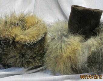 Fur Wrist Cuffs.