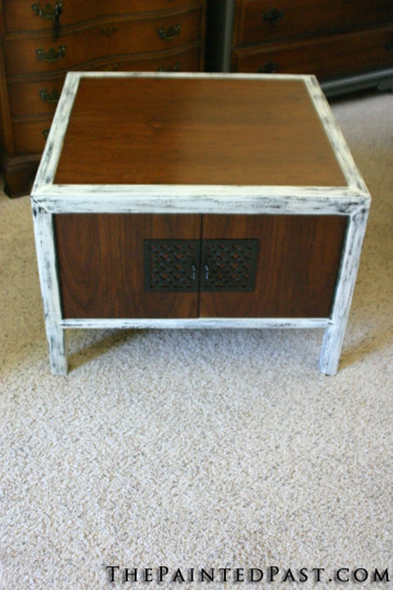 Coffee Table or End Table - Distressed and Stained