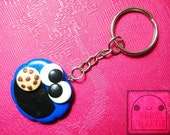 Cookie Monster Keychain