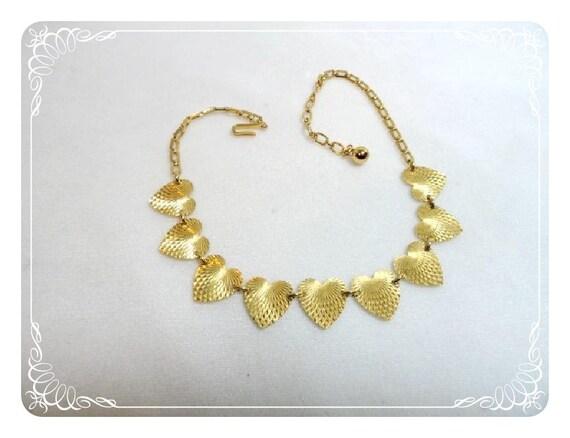Sweet 16 Trifari Sweetheart Necklace - Diamond Cut   1555a-052112000