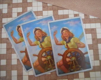 Rare Vintage Pin Up Playing Cards