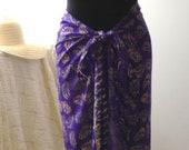 10 DOLLARS OFF - L/XL Faux Sarong Skirt