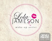 Premade Custom Logo for Business - Photography Make up  Beauty Boutique Feminine lipstick