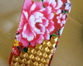 Floral Studded iPhone 4,4S Case
