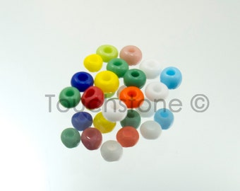 10/0 Czech Seed Beads Opaque Assorted 20 Grams #229-1022