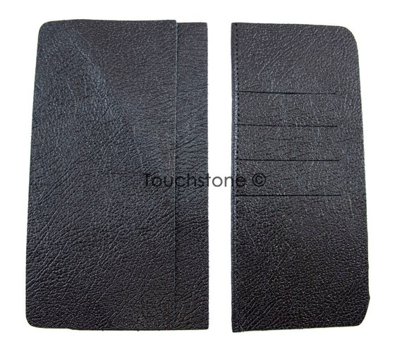men 39 s black leather roper wallet interior by springfieldleather