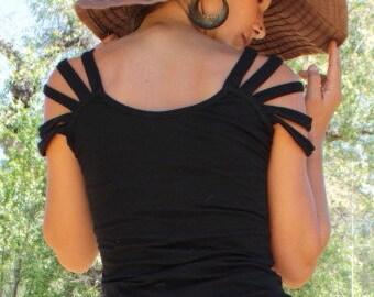 Sun ray shirt-Womens top-blouse women-Summer fashion-Bohemian clothing-Unique top-Tribal clothes-Urban Hippie Top-Festival Clothes-Sexy top