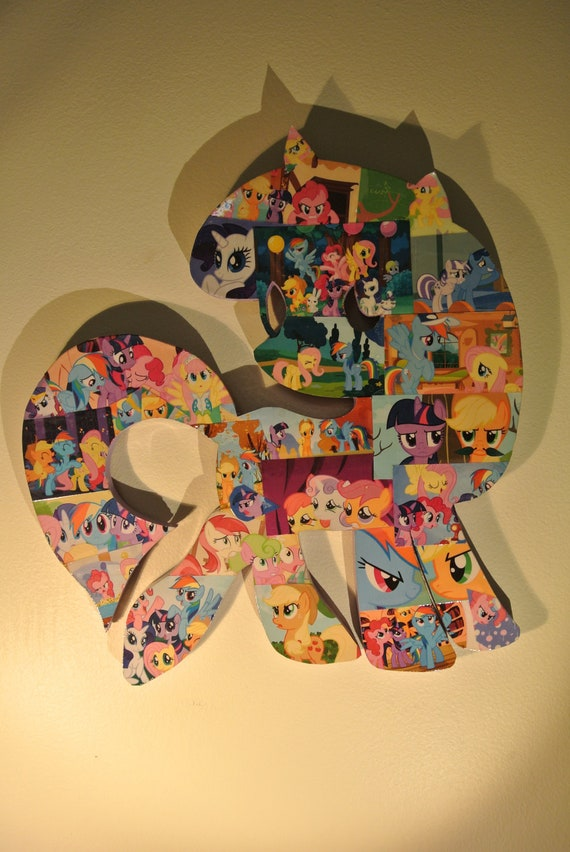 My Little Pony Wall Plaque