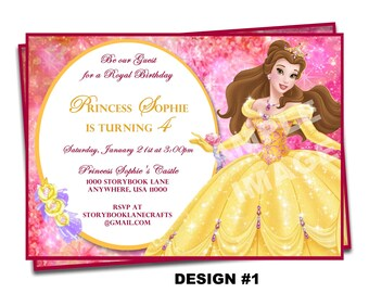 Cinderella Party Invitation with best invitations ideas