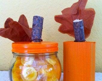 Fall Pumpkin home decor hostess gift set
